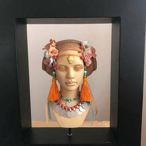 The Blackshear Style Exotic Nouveau Bust